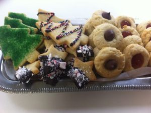 Shortbread Cookies Three Ways