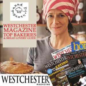 Baked By Susan Featured in Westchester Magazine: Top Bakeries and Bread Lovers' Guide